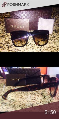 Gucci Sunglasses Tortoise Frames, Fall 2016 Collection Gucci Accessories Sunglasses