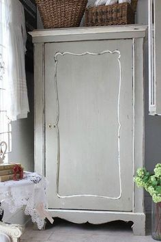Darling Hand Painted Furniture, Rustic Furniture, Home Furniture, Vintage Booth Display, Armoire, Wardrobe Furniture, Favorite Paint Colors, Shabby Chic Farmhouse, Hearth And Home
