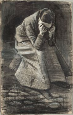Weeping Woman, Vincent van Gogh. 1883