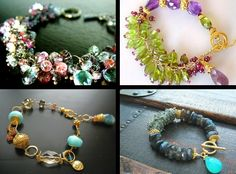 4 bracelets by Splenderosa