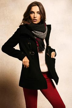 Andreea Diaconu | Massimo Dutti September 2012 Lookbook
