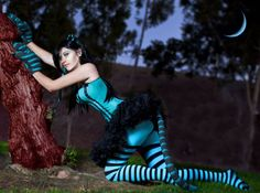 Cheshire+Cat+Costume+Ideas | One of the best Cheshire cat cosplays I have ever seen.