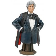 Doctor Who Masterpiece Collection Bust The Third Doctor 20 cm | Captain Hook Merchandise