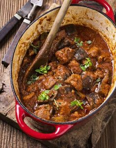 Monash University Low FODMAP Diet: Slow-cooked low-FODMAP Lamb Casserole