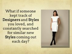 Syfto a great way to find new styles and designers. Check it out.  #ad