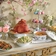 Easy & Elegant Easter Menu | This easy and elegant menu keeps things classic, but with an extra helping of flavor and color. | SouthernLiving.com
