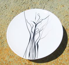 Glass plate, black & white series