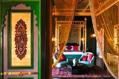 9 Out-Of-This World, (Maybe) Once-In-A-Lifetime Romantic Winter Getaways #refinery29  http://www.refinery29.com/winter-vacation-ideas#slide-8  Taj Hotel (Marrakech)