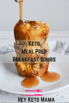 These Keto Meal Prep Breakfast Bombs are perfect for busy mornings. Full of savory flavor, I definitely recommend finishing them with a sugar free syrup! Keto Foods, Keto Diet Drinks, Keto Approved Foods, Keto Recipes, Diet Menu, Coconut Recipes, Entree Recipes, Keto Diet List, Starting Keto Diet