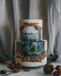 Art cake by Winifred Kristé