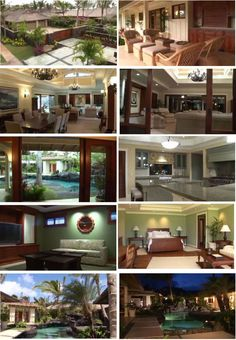 Located on the windward side of the island of Oahu, the home is situated on Kailua Beach.    The property is 6,000 square feet with 5 bedrooms, 6 baths and an contemporary Asian theme --