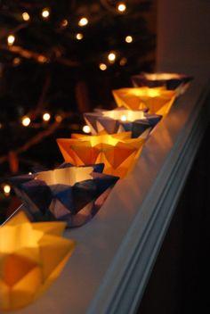 Waldorf star lanterns