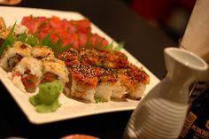 Sushi Avocado Toast, Sushi, Cravings, Nom Nom, Make It Yourself, Meat, Chicken, Baking, Breakfast