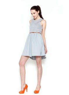 Gray Grey Bridesmaid Dress | $85+ | USTrendy | wedding ceremony reception bridesmaids maid of honor silver