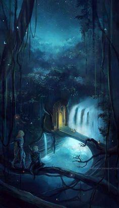 Elven Gate of Mirkwood - The Hobbit