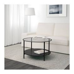 IKEA VITTSJO Coffee Table - Black, Glass | Livingroom | Urban Sales