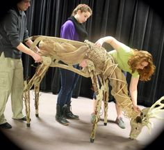 """Once Upon A Blog...: Theater: """"The King Stag"""" (A New Production with Puppets from the Creators of """"War Horse"""")"""