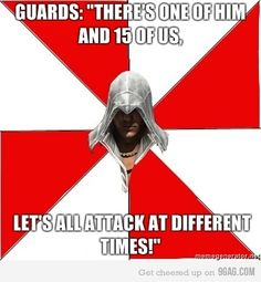 Assassin's Creed Guards Logic