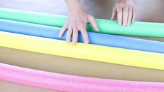 13 Brilliant Pool Noodle Hacks You'll Wish You'd Seen Sooner | Hometalk - YouTube Pool Noodle Crafts, Craft Sites, Pool Noodles, Cleaning Hacks, Diy And Crafts, Diys, Projects To Try, Crafty, Facebook