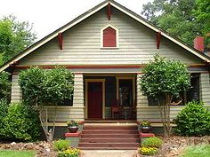 A whole blog post. A house tour of a 1915 SEARS KIT Craftsman Bungalow.