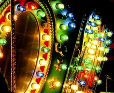 Funfair lights