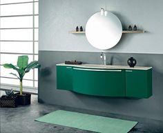 http://sandavy.com/exciting-bathroom-vanity-inspiration-stylish-modern-bath-room-vanities-design/entrancing-green-bathroom-plant-window-round-mirror-bottle-faucets-light-200-leda-furniture-display-shelves-partition-floor-carpet-vanity-sink-green-leaf-banana-in-square-black-pot-black-bottle-shoap/