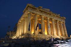 the Parthenon . .
