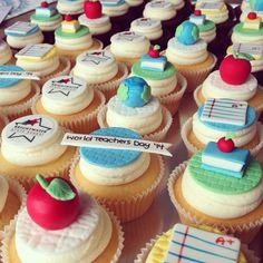 Teachers Cupcakes www.facebook.com/breezyscakes