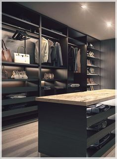 The best of luxury closet design in a selection curated by Boca do Lobo to inspire interior designers looking to finish their projects. Discover unique walk-in closet setups by the best furniture makers out there. Men Closet, Wardrobe Closet, Closet Bedroom, Closet Mirror, Closet Space, Luxury Wardrobe, Luxury Closet, Big Closets, Dream Closets