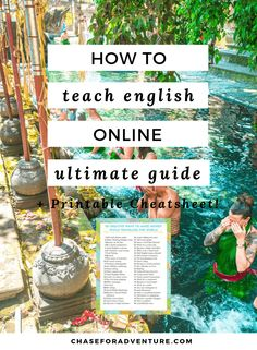 Teaching English Online is an amazing way to make money while traveling or make money from home! Teaching English online has a salary of upto $35 an hour and can make you upwards of $2,500 a month! Click through to read our ultimate guide to teaching english online for travelers and digital nomads! We cover frequently asked questions and tips for teaching English online jobs! #teachenglish #makemoneyonline #makemoneyfromhome #locationindependent