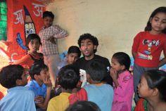 Sumit spreading the joy of reading!  #Books #Reading #Day #India #Community #Delhi