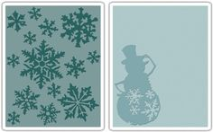 sizzix embossing folder snowflurries - Google zoeken