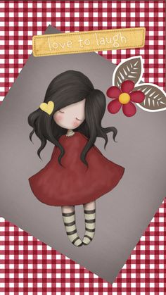 Gorjuss Cute Images, Cute Pictures, Little Girl Drawing, Santoro London, Atc Cards, Holly Hobbie, Copics, Happy Planner, Cute Wallpapers