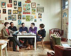 The coolest cafe around! 'Bragazzis' Sheffield