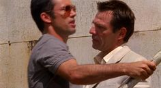 "Burn Notice 1x07 ""Broken Rules"" - Michael Westen (Jeffrey Donovan) & Jason Bly (Alex Carter)"
