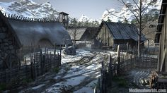 Glendower - North - village