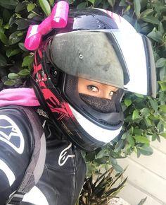 Helmet Bow by LuckyYogi via Mrs CBR
