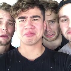 """""""You only like 5SOS cause they're hot"""" yupp sure"""