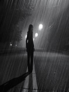 girl crying in the rain | Sad Girl in Rain
