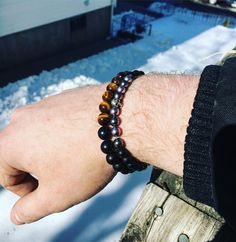 Always stay on point! www.newreignco.com http://ift.tt/2ljDkKI  #newreignco #sale #beadedbracelets #bracelets #yoga #yogabracelet #getyourstoday #armcandy #beads #style #fashion #mensfashion #womensfashion #stretchbracelets #accessories #womensaccessories #boston #jewelry #beadedjewelry #menwithstyle #handmade #madeintheusa #stackedbracelets #stacksonstacks #etsy