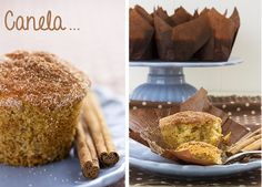 Muffins de canela