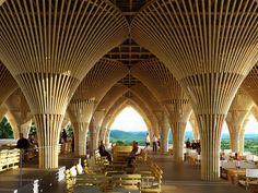 L'architettura sarà sostenibile quando la stragrande maggioranza dei materiali impiegati sarà ecocompatibile. Scopriamo l'acciaio verde: il bambù.