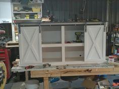 Decor, Furniture, Wood, Cabinet, Barnwood Wall, Barn Wood, Home Decor, China Cabinet, Barn Door Console