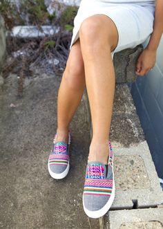 Inkkas Australia vegan sneakers x Eco Warrior Princess