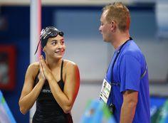 Yusra Mardini, member of the Refugee Olympic Team - Olympic Games, Rio de Janeiro