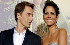 Famous Celebrity Couple Actor Halle Berry With Actress Olivier Martinez Photo Download
