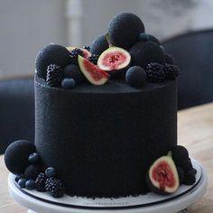 No Bake Blaubeer Cheesecake – No Bake Blueberry Cheesecake - New ideas Gorgeous Cakes, Pretty Cakes, Amazing Cakes, Bolo Tumblr, No Bake Blueberry Cheesecake, Fancy Cakes, Love Cake, Cake Creations, Creative Cakes