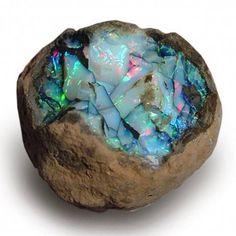 Ethiopian Opal Nodule | #Geology #GeologyPage #Opal #Mineral Geology Page www.geologypage.com