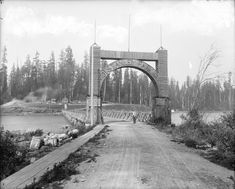 1890s Entrance to Stanley Park