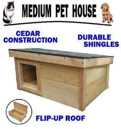 The Only Heated Outdoor Cat House Quot Our Adopted Outside